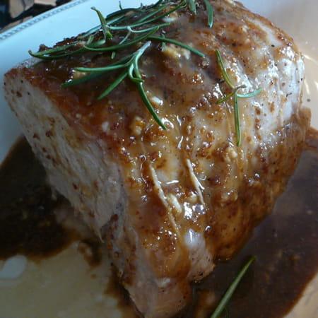 Roti de porc gingembre et soja la recette facile - Cuisiner roti de porc ...