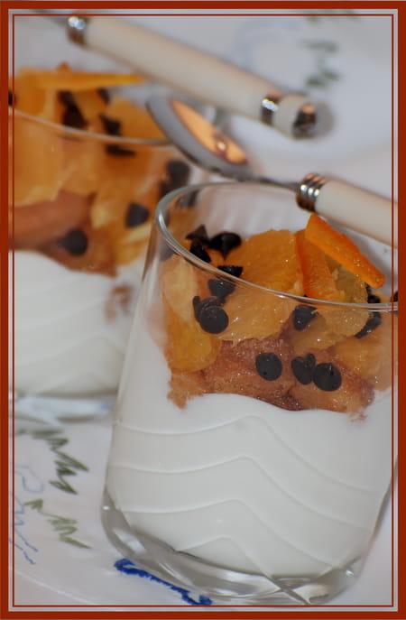 dessert au verre fa on tiramisu l 39 orange la recette facile. Black Bedroom Furniture Sets. Home Design Ideas