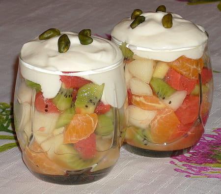 Verrine de fruits d 39 hiver la recette facile for Dessert aux fruits en verrine