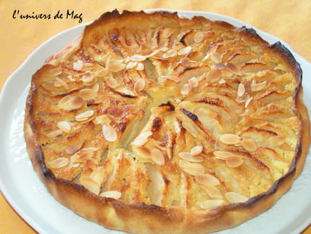 tarte aux pommes normande la recette facile. Black Bedroom Furniture Sets. Home Design Ideas