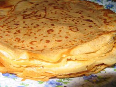 Cr pes ar me vanille et fleur d 39 oranger la recette facile - Recette crepe grand mere ...