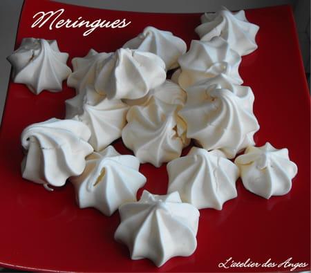 Petites meringues la recette facile - Recette de meringue facile ...