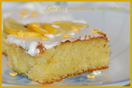 Carr s moelleux au citron la recette facile - La cuisine de bernard tarte au citron ...