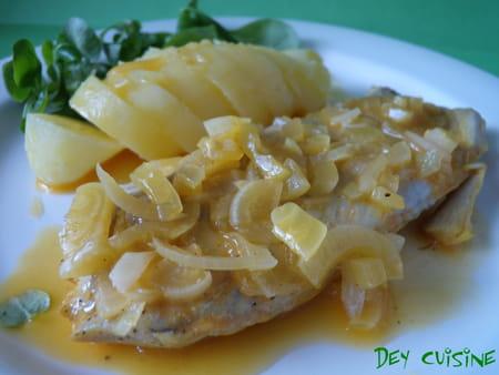 Papillote de poisson au jus cuisin la recette facile - Cuisine poisson facile ...