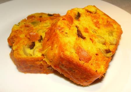 Cake Chorizo Olives Thermomix