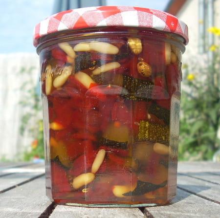 Confiture courgettes et poivrons la recette facile - Cuisiner des poivrons ...