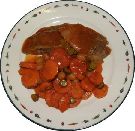 Langue de boeuf sauce piquante la recette facile - Cuisiner langue de boeuf ...