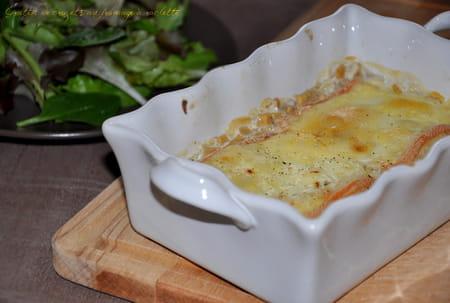 gratin de crozets au fromage raclette la recette facile. Black Bedroom Furniture Sets. Home Design Ideas