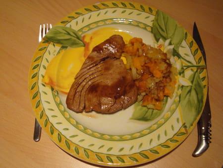 Steak de thon grill et salsa de mangue la recette facile - Recette steak de thon grille ...