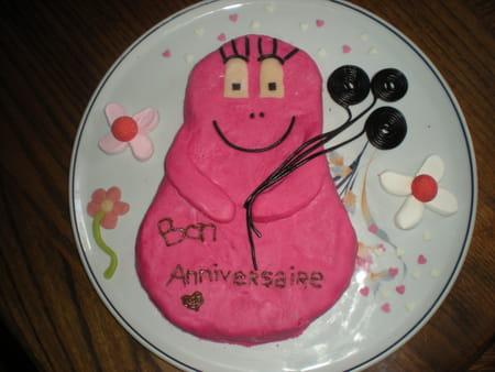 ... avis de Wendy sur Gâteau d'anniversaire Barbapapa : Très bon gâteau