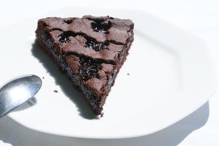 tarte de linz au chocolat et confiture de m res la recette facile. Black Bedroom Furniture Sets. Home Design Ideas