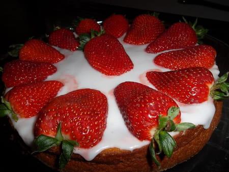 G teau portugais aux fraises pour f te des m res la recette facile - Gateau pour la fete des meres ...