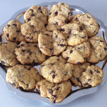 Recette cookies moelleux au chocolat - Recette cookies chocolat moelleux ...