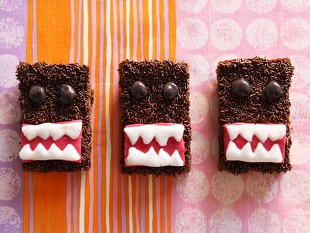 Brownies domo kun le monstre gentil la recette facile for Domo arreda facile