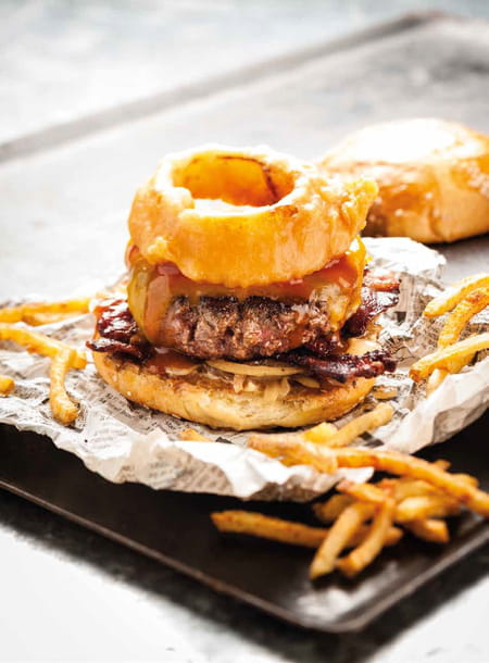 Burger barbecue du camion qui fume la recette facile for Entree barbecue facile