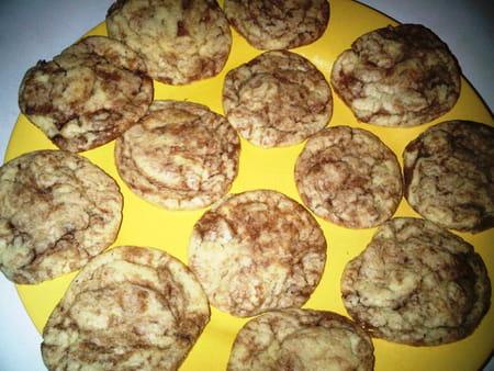 Cookies au nutella la recette facile - Recette de cookies au nutella ...