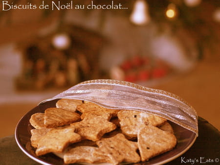Biscuits de no l au chocolat la recette facile - Biscuit de noel facile ...