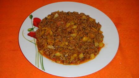 Viande hach e fa on malgache kimou la recette facile - Viande facile a cuisiner ...