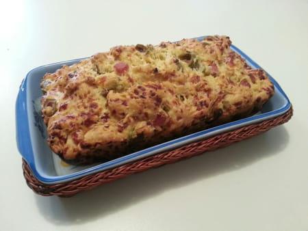 Cake au jambon et aux olives avis sur la recette - Cake au olive jambon ...