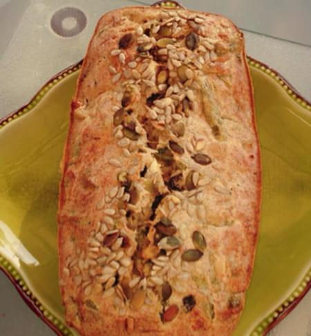Cake Au Olives Et Haricots