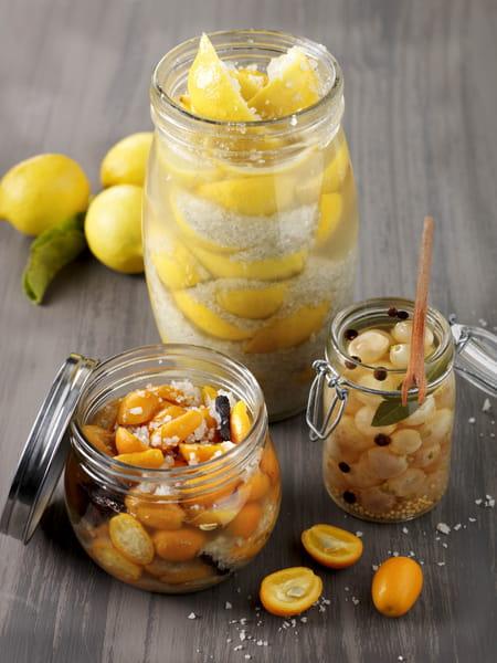 bocaux de fruits d hiver confits au sel de gu rande le gu randais la recette facile. Black Bedroom Furniture Sets. Home Design Ideas