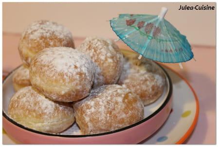 Beignets de carnaval au sucre cuisson au four la recette facile - Recette pate a beignet sucre ...
