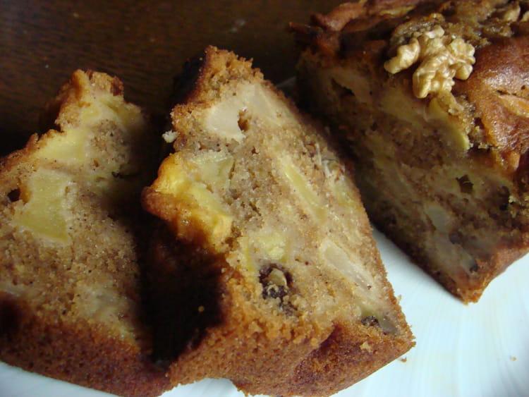 Recette Cake Pomme Et Noix