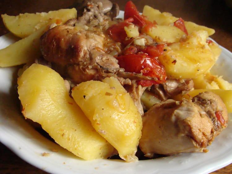 Recette de lapin la saintongeaise la recette facile - Recette de lapin facile ...
