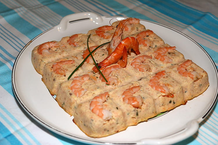 recette de terrine de saumon aux crevettes roses la recette facile. Black Bedroom Furniture Sets. Home Design Ideas