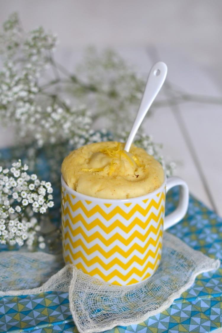 recette de mug cake v g tal au citron sans micro ondes sans gluten la recette facile. Black Bedroom Furniture Sets. Home Design Ideas