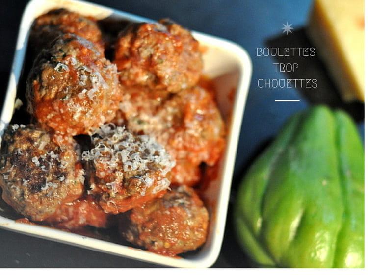 Recette de boulettes de boeuf au parmesan la recette facile - Boulette de boeuf maison ...