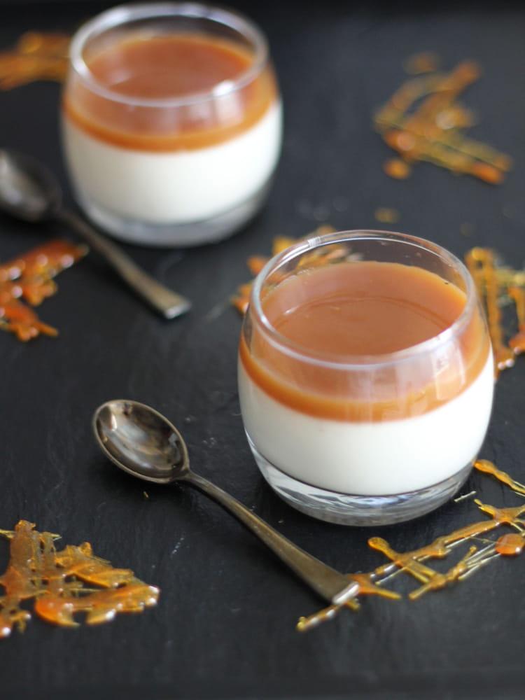 Panna cotta au caramel au beurre sal la recette facile - Recette caramel beurre sale breton ...
