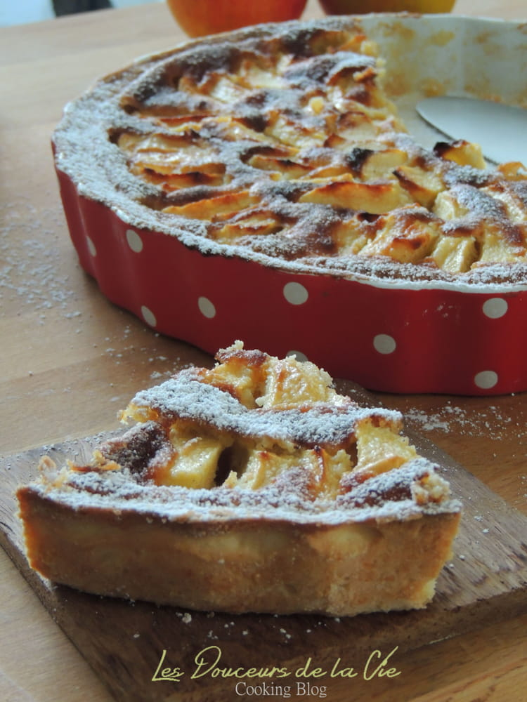 recette de tarte aux pommes normande gourmande la recette facile. Black Bedroom Furniture Sets. Home Design Ideas