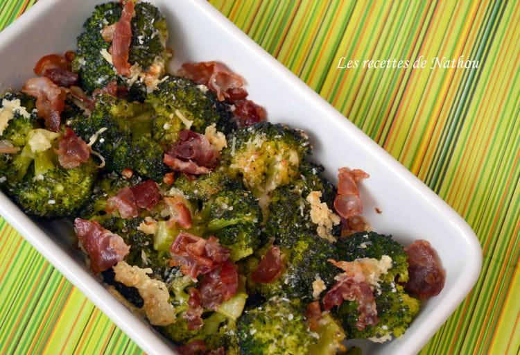 recette de brocolis po l s la pancetta et au parmesan la recette facile. Black Bedroom Furniture Sets. Home Design Ideas