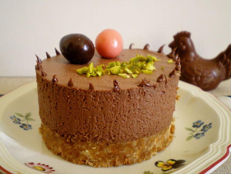 recette de cheesecake chocolat ricotta sans cuisson la. Black Bedroom Furniture Sets. Home Design Ideas