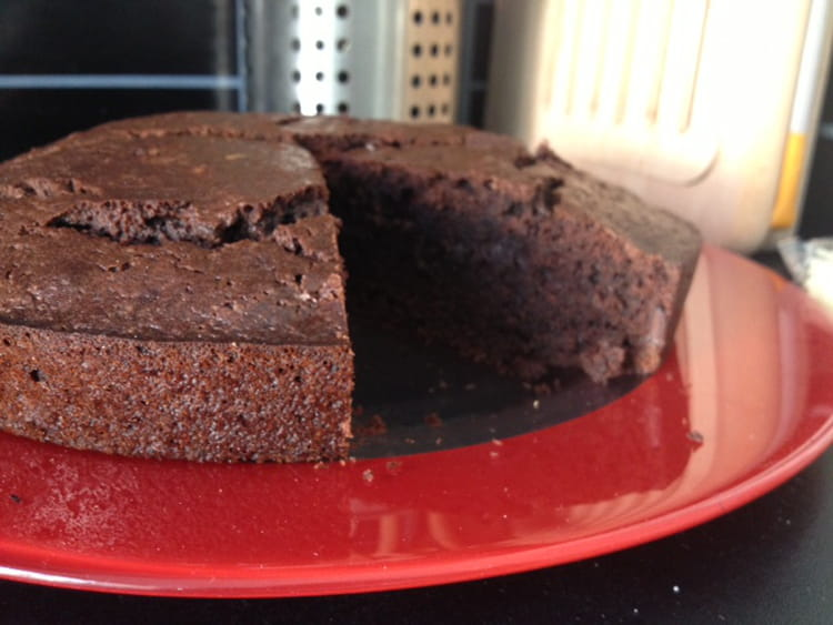 Recette de g teau au chocolat et p pites de chocolat sans gluten la recette facile - Gateau au chocolat sans gluten ...