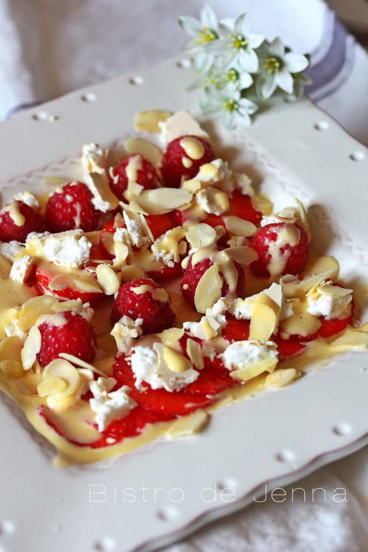 recette de dessert aux fraises et framboises fra 238 ches la recette facile