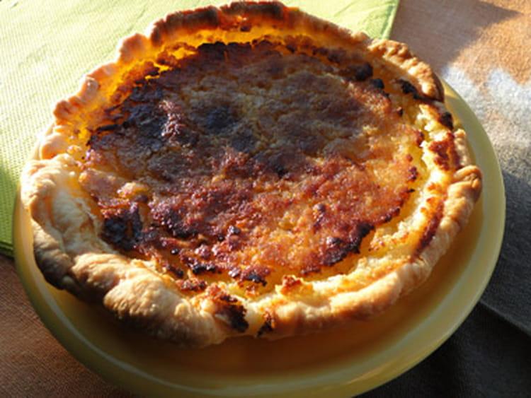 Recette de tarte au citron amandes et sp culoos la - La cuisine de bernard tarte au citron ...
