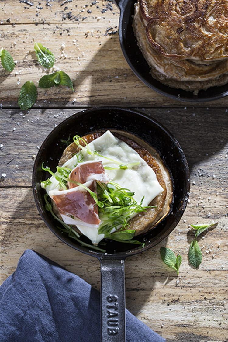 Recette de pancake la farine de ch taigne et croque - Cuisiner chataignes fraiches ...