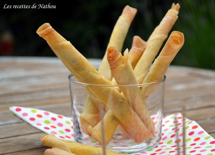 Recette de feuilles de brick aux anchois la recette facile - Cuisiner feuille de brick ...
