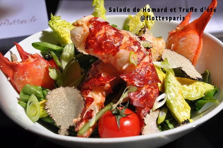 Recette de salade de homard et truffe d t la recette for Entree facile ete