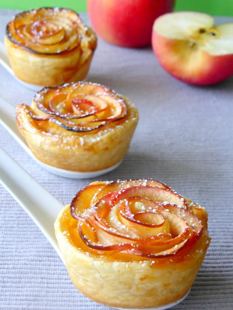 recette roses feuillet 233 es aux pommes dessert aux fruits