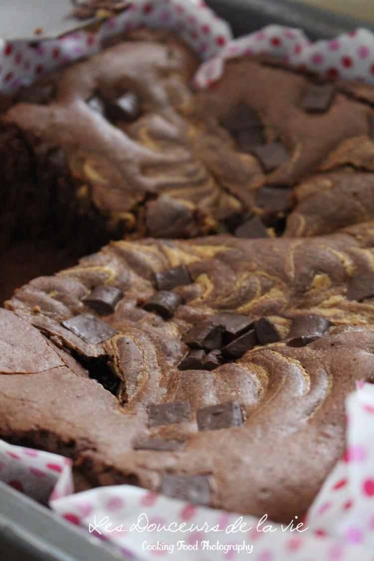 recette de brownie au chocolat et beurre de cacahu te la recette facile. Black Bedroom Furniture Sets. Home Design Ideas
