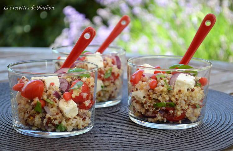 recette de salade de quinoa et boulgour aux baies de goji feta oignon rouge et citron la. Black Bedroom Furniture Sets. Home Design Ideas