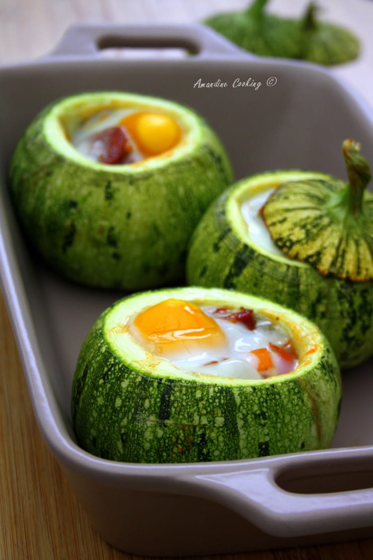 Cuisson oeuf - Comment cuisiner les courgettes rondes ...