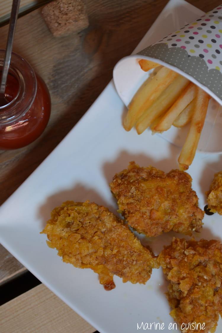 recette de nuggets maison la recette facile