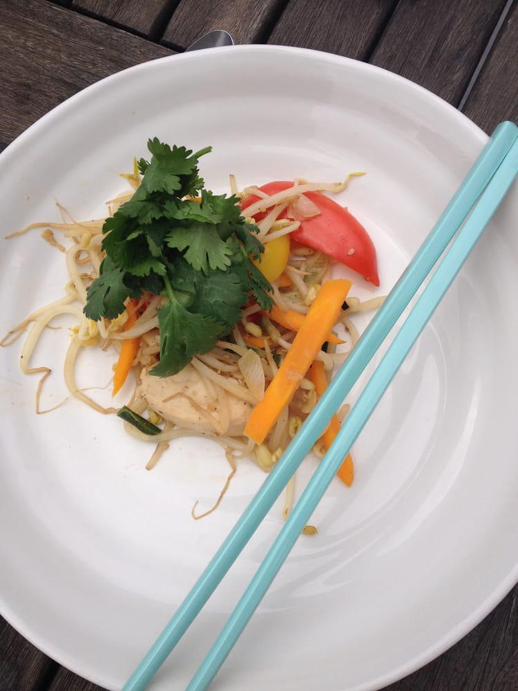 Poulet aux legumes croquants la plancha ou au wok la for Legumes a la plancha