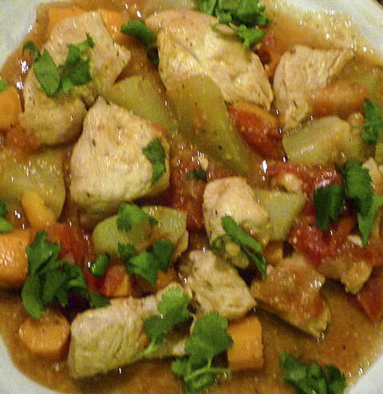 Recette de dinde aux chayottes carottes et tomates et sa - Cuisiner les chayottes ...