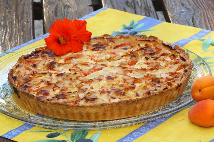 Recette de tarte aux abricots fa on mirliton la recette facile - Recette de tarte aux abricots ...
