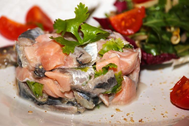 Recette de tartare de sardines et saumon la recette facile - Cuisiner des filets de sardines fraiches ...